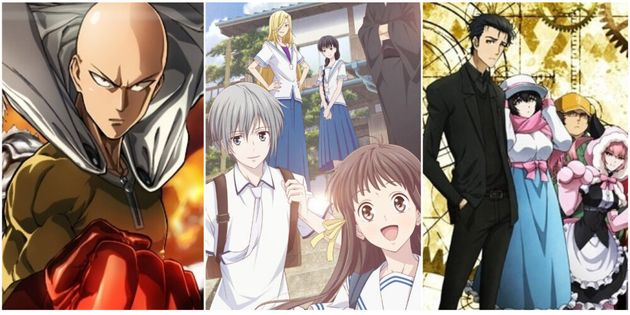 5 animes to