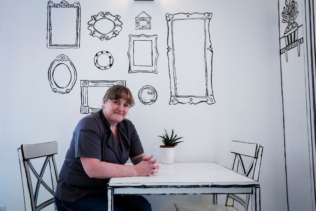 Sherry Lindenback, owner of 94 Take the Cake bakery, says even regulars are impressed with the immersive...