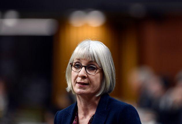 La ministre fédérale de la Santé, Patty