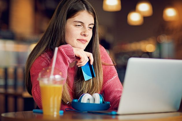 A teenage girl is seen here in a stock photo. A new report suggests 63 per cent of Canadian Gen...