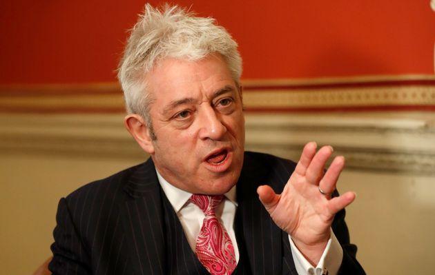 Former House of Commons speaker, John