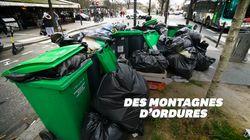 À Paris, la grève des incinérateurs provoque une situation