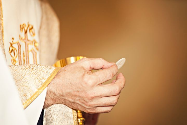 "Catholic doctrine teaches that the Eucharist is the &ldquo;<a href=""http://www.vatican.va/roman_curia/synod/documents/rc_syno"