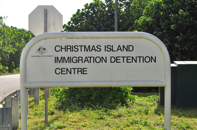 Australians evacuated from China headed for Christmas Island.  (Photo by Scott Fisher/Getty Images)