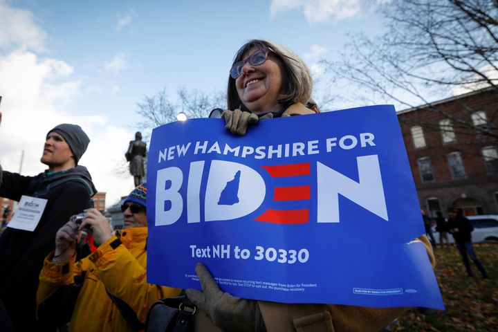 Former Vice President Joe Biden's campaign thought it wouldn't need a good showing in New Hampshire. That's