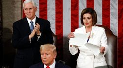 Nancy Pelosi Rips Up Donald Trump's State Of The Union