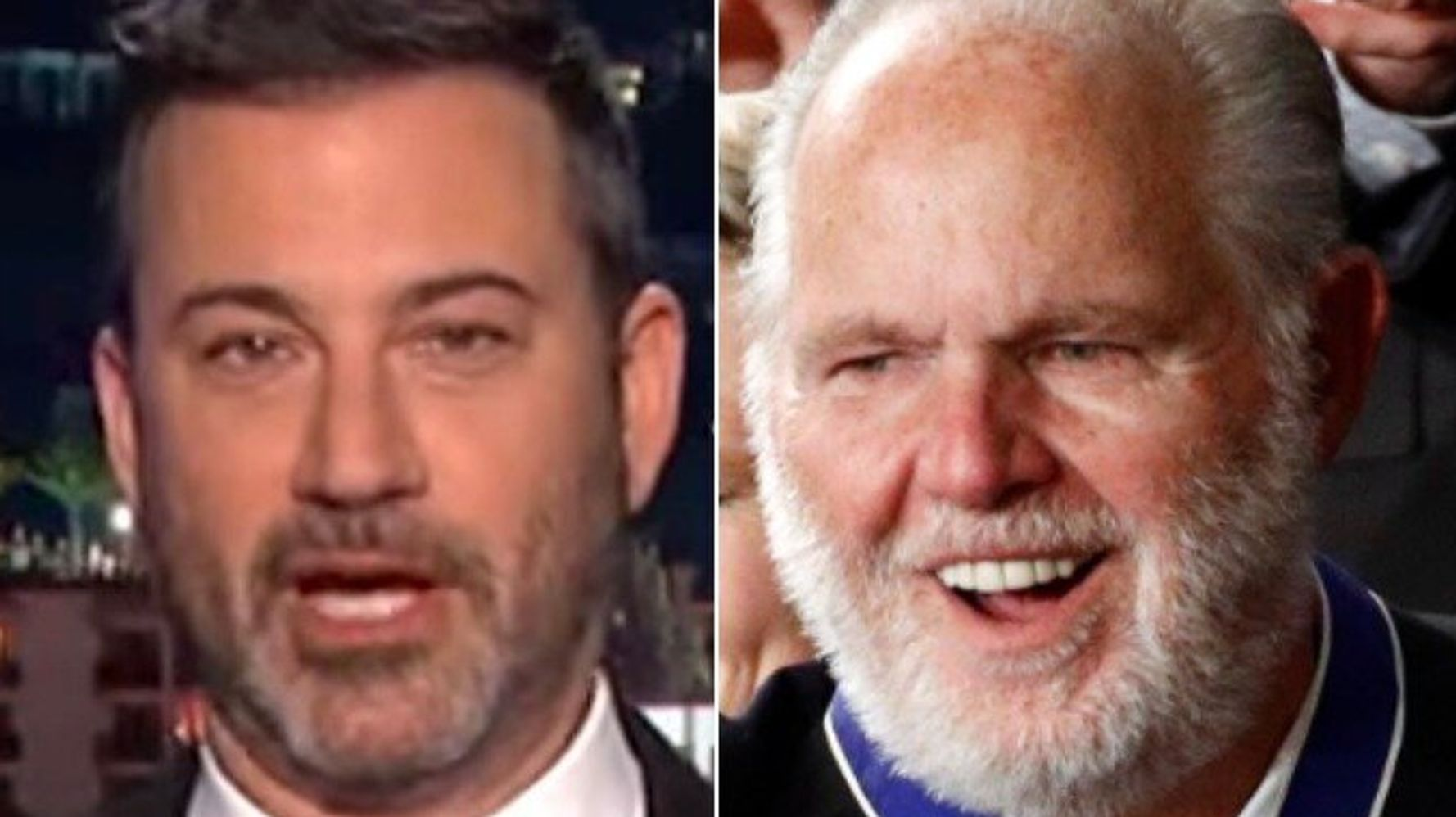 Jimmy Kimmel Shows How Trump S Medal For Rush Limbaugh Is Even