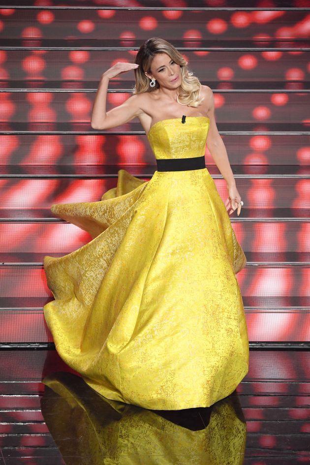 SANREMO, ITALY - FEBRUARY 04: Diletta Leotta attends the 70° Festival di Sanremo (Sanremo Music Festival)...