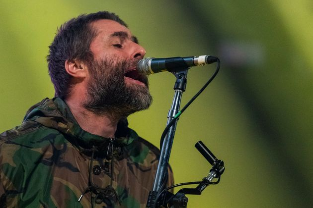 Liam Gallagher performing earlier this