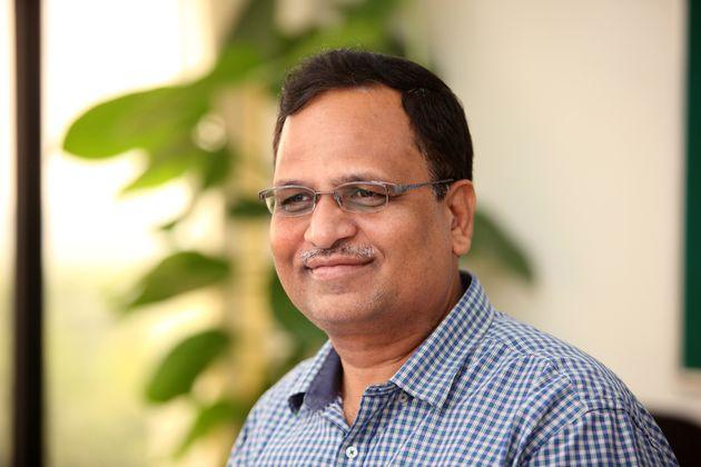 Satyendra Jain in a file