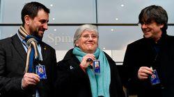 Clara Ponsatí recoge su acreditación de eurodiputada por