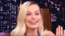 Margot Robbie Zieht Sich Aus Amateur Tätowieren Nach Der Hochzeit Unglück