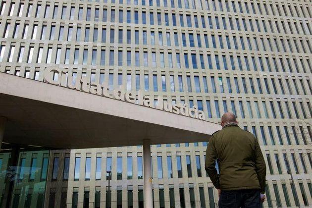 Imagen de la sede de la Ciutat de la Justicia de