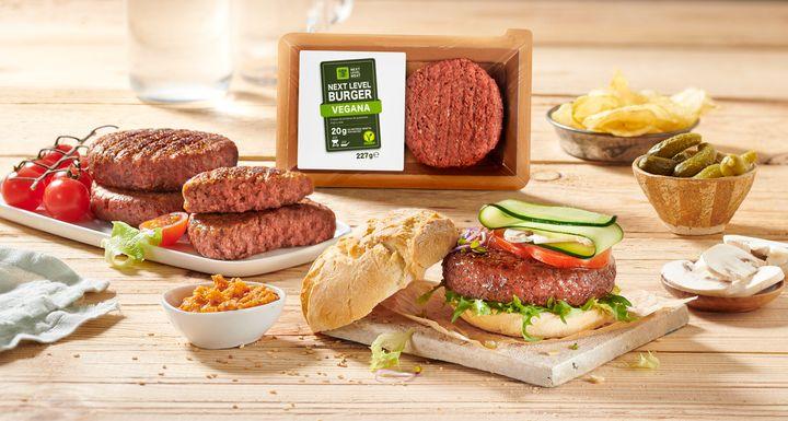 La nueva hamburguesa vegana de Lidl.