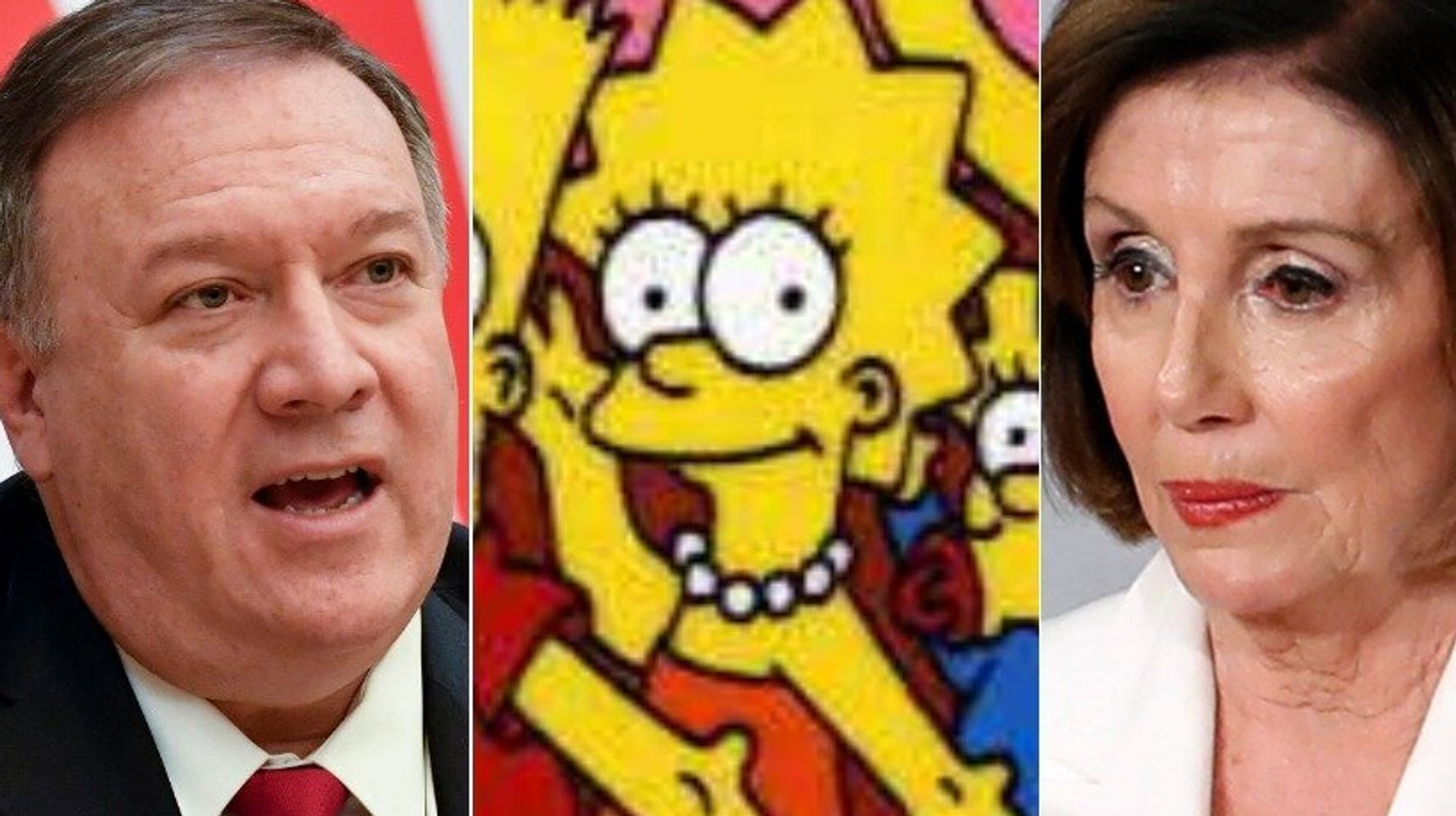Westlake Legal Group 5e3ab8082700008f0338b454 Pompeo Spectacularly Self-Owns With Attempted 'Simpsons' Troll Of Pelosi