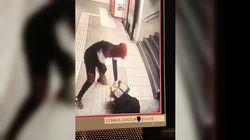 Brutal agresión a una mujer en el metro de