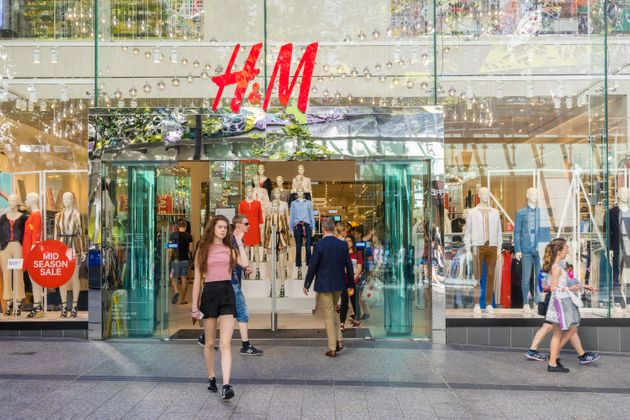 An H&M store in Brisbane, Australia. The company is making pledges on its climate and environmental...