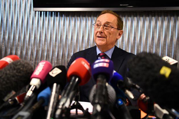 Didier Gailhaguet a donné une conférence de presse pour contre-attaquer après les appels à la démission...