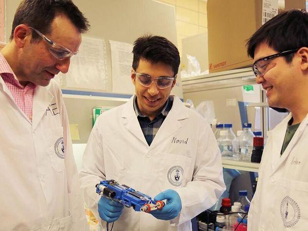 """Pour soigner les brûlures, des chercheurs inventent un """"scotch à peau"""""""
