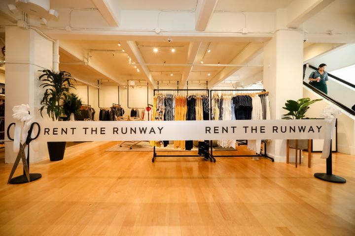 Rent the Runway's West Coast flagship store opened in San Francisco in May 2019.