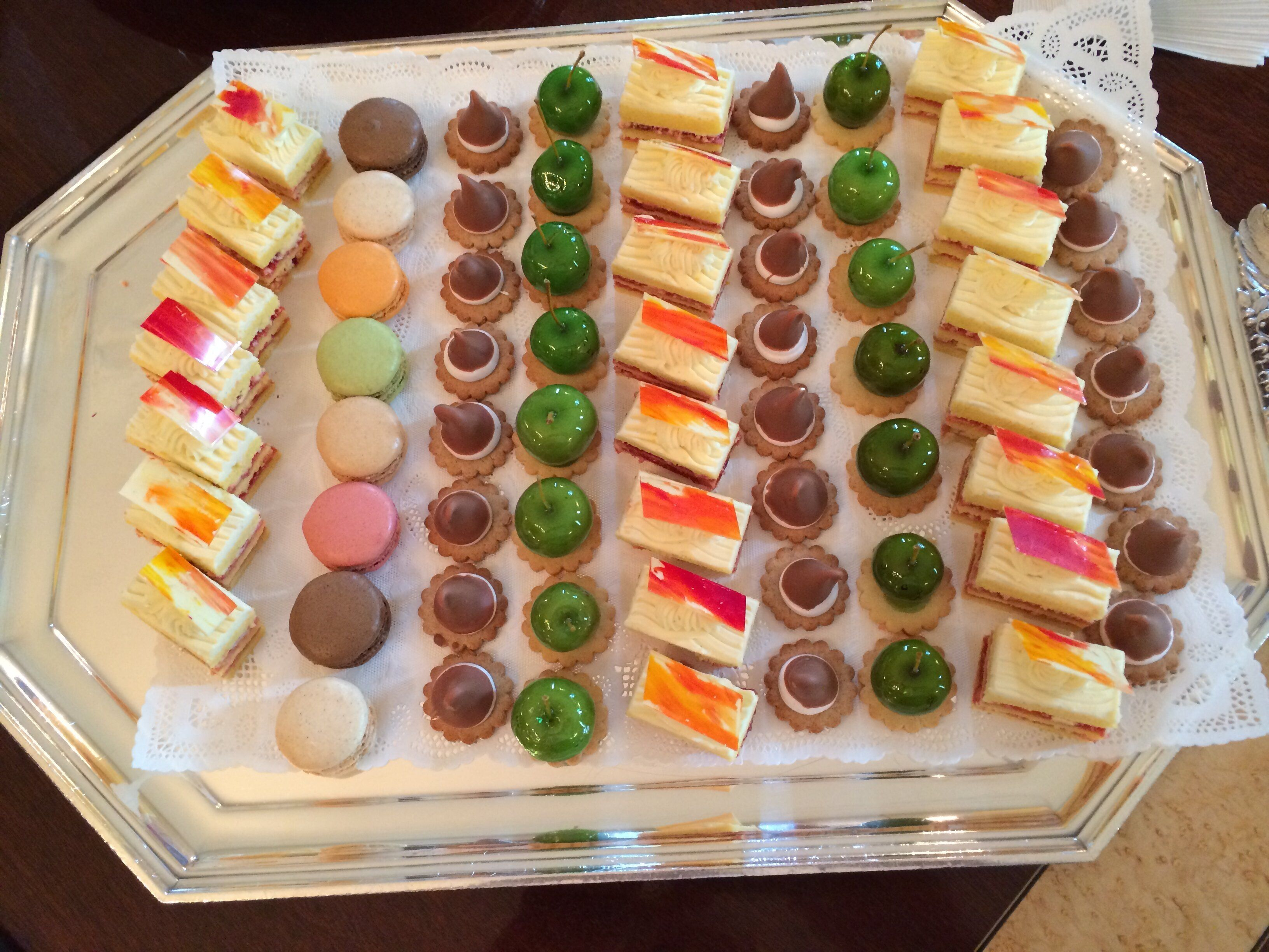 A selection of desserts that Yosses made for the state dinner in honor of then-President Francois Hollande in February 2014.