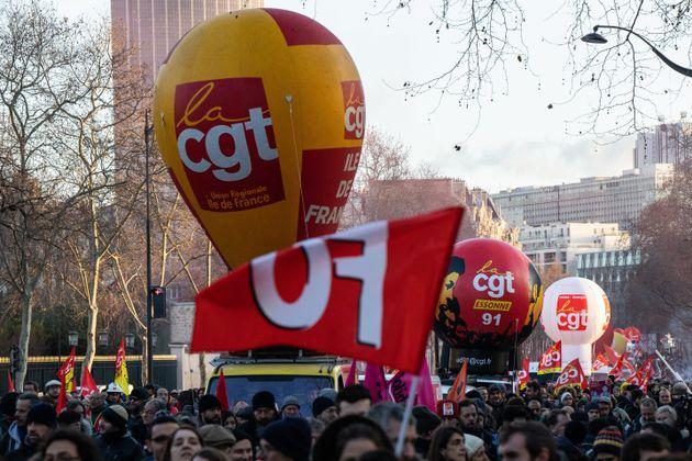Photo de la manifestation du 29 janvier à Paris
