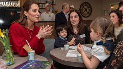 Un detalle de esta foto desvela una intimidad de Kate Middleton y el príncipe