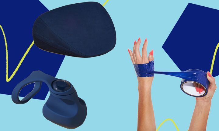 These sex toys for first-timers won't have you feeling blue at all.