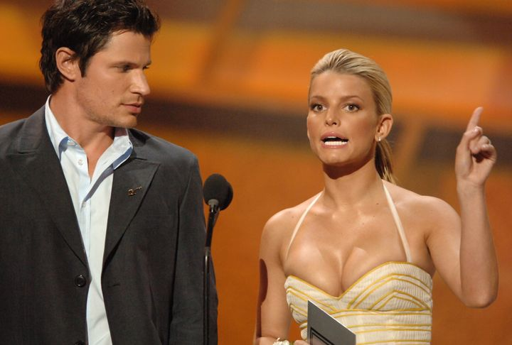 Lachey and Simpson were married from 2002 to 2006.