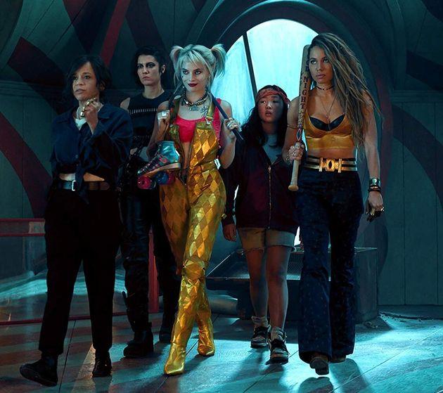 Rosie Perez,Mary Elizabeth Winstead, Margot Robbie,Ella Jay Basco eJurnee Smollett-Bell...