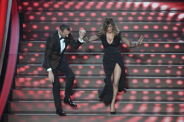 Sanremo 2020, Sabrina Salerno mozzafiato all'Ariston: