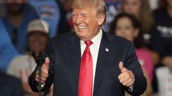 La inmediata reacción de Trump a su victoria: un tuit sin palabras que da