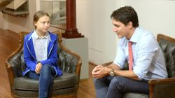 Greta Thunberg Throws Shade At Trudeau For 'Climate