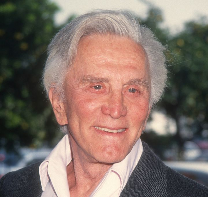 Kirk Douglas, pictured here in 1992, died Feb. 5, 2020, at the age of 103.