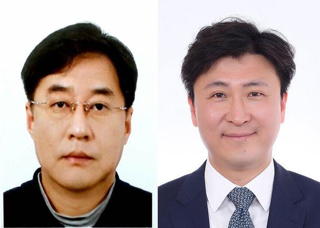 강민석 전 중앙일보 부국장(사진 왼쪽), 한정우현