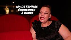 À Paris, Aicha est l'une des rares femmes à être