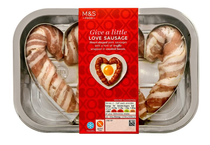 The new, smaller Love Sausages