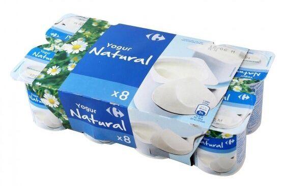 Yogur natural de Carrefour.