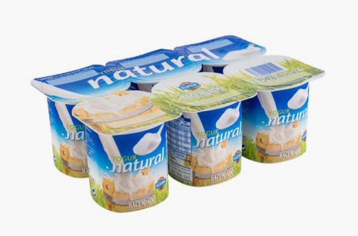 Yogur natural de Hacendado (Mercadona).
