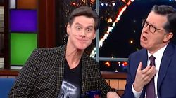 Jim Carrey's Fart Metaphor For Donald Trump Is Pure Poetry On 'Late