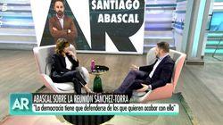 Ana Rosa Quintana interrumpe a Abascal tras hacer esta