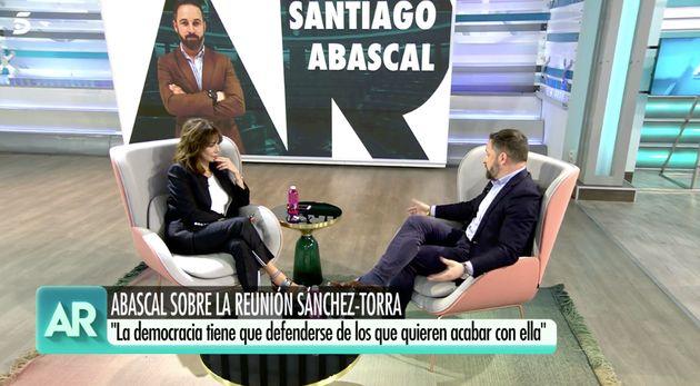 Santiago Abascal en 'El Programa de