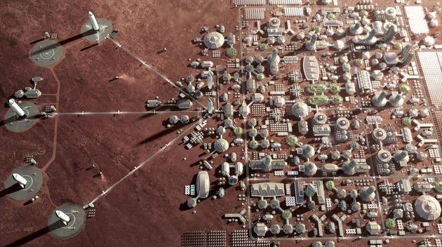 Απόβαση στον κόκκινο πλανήτη: Ετσι θα είναι η ζωή στον