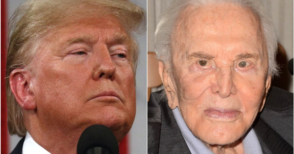 Kirk Douglas Fans Are Remembering Him With This Impassioned Letter He Wrote About Trump In 2016