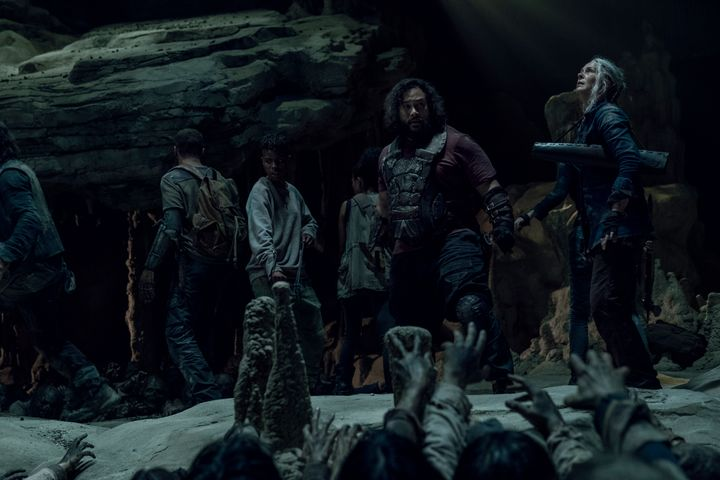 """Who will make it out of the cave on """"Walking Dead""""?"""