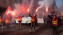 Retraites: 130.000 manifestants selon la CGT à Paris, la mobilisation en
