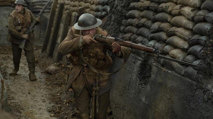Una escena de '1917'.