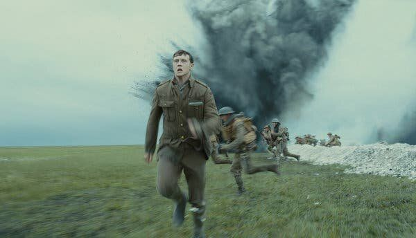 La escena más famosa de '1917'.