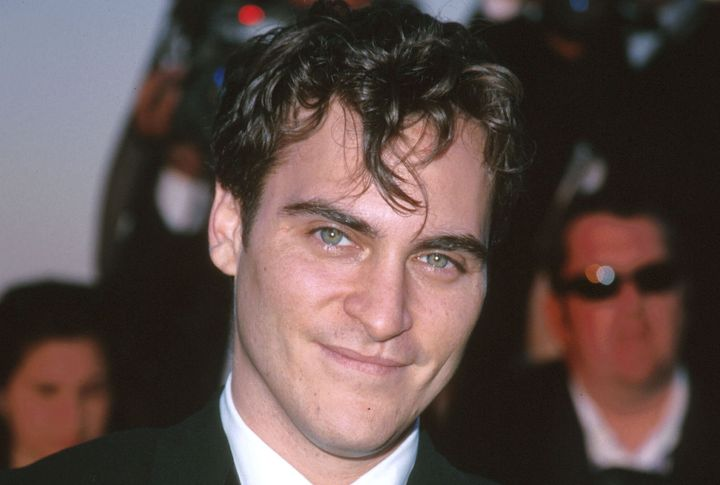 Joaquin Phoenix, en el festival de Cannes del año 2000.