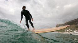 Afrique du Sud: des planches en bois pour un surf plus